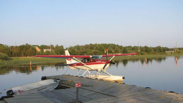 Un avión ligero Cessna (imagen referencial) - Sputnik Mundo