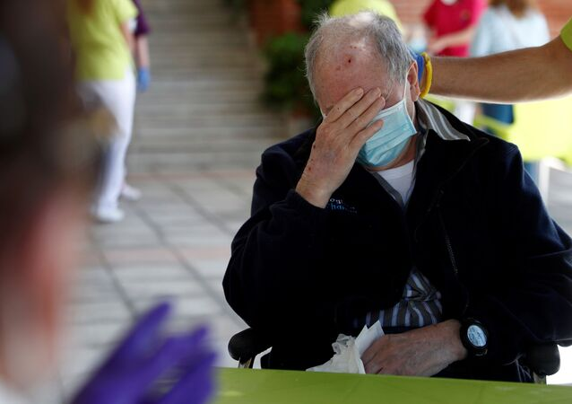 Centro de ancianos en las afueras de Madrid, España, 8 de junio de 2020.