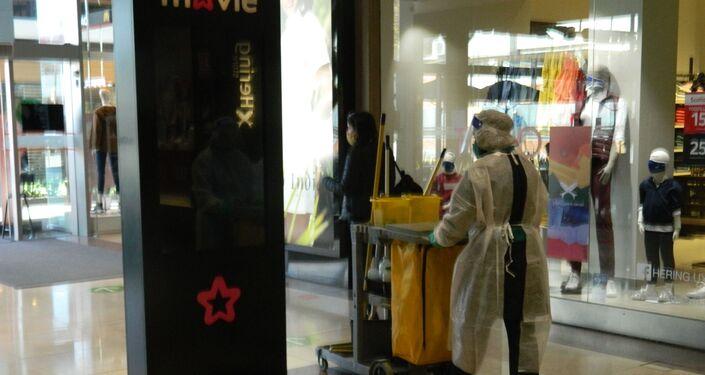 Reapertura de Montevideo Shopping, Uruguay