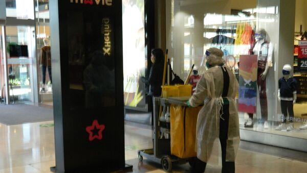 Reapertura de Montevideo Shopping, Uruguay - Sputnik Mundo