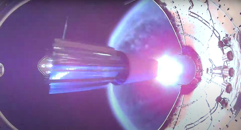El despliegue final de los satélites Starlink de SpaceX