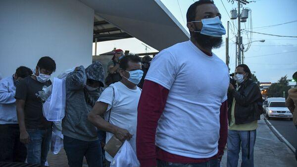 Migrantes de Guatemala deportados de EEUU - Sputnik Mundo