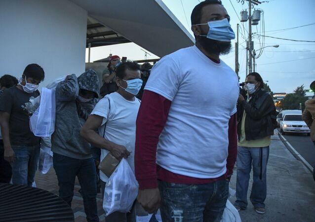 Migrantes de Guatemala deportados de EEUU