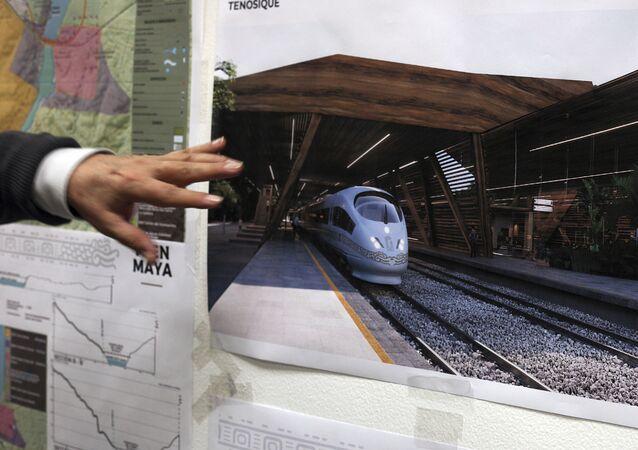 El plan de construcciones del Tren Maya