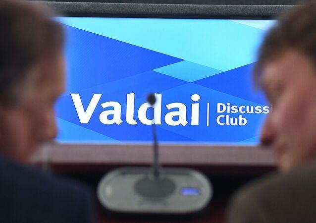 Una conferencia del club Valdái