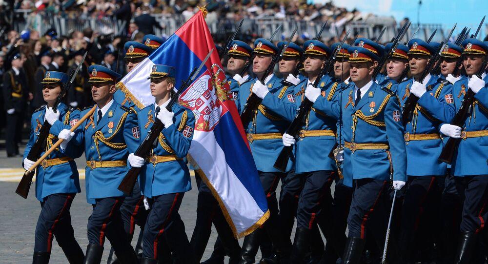 Militares de las Fuerzas Armadas de Serbia (archivo)