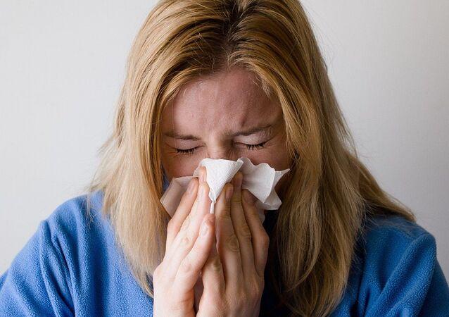 Pérdida de olfato (imagen referencial)