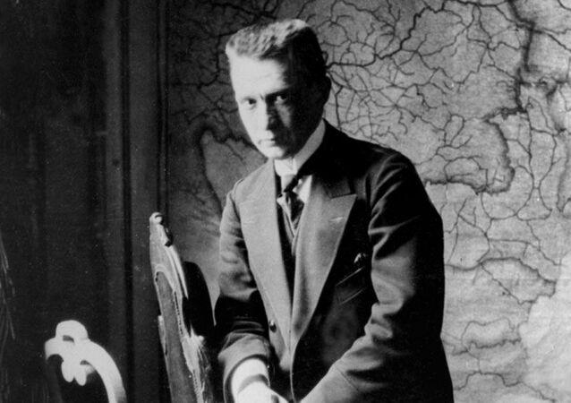 Kérenski en su despacho