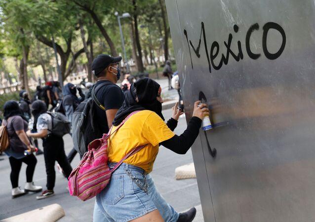 Protestas contra la brutalidad policial en México