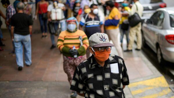 Brote de coronavirus en Ecuador - Sputnik Mundo