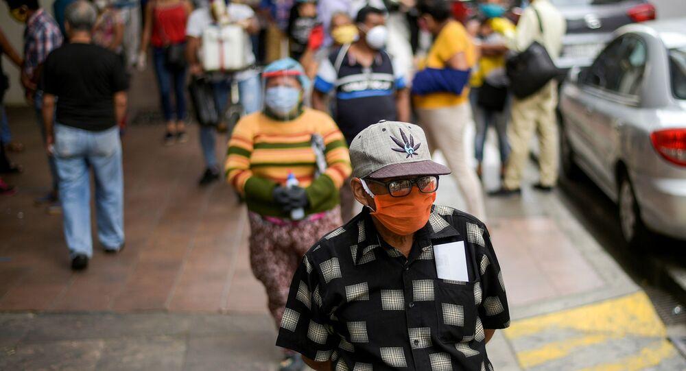 Brote de coronavirus en Ecuador