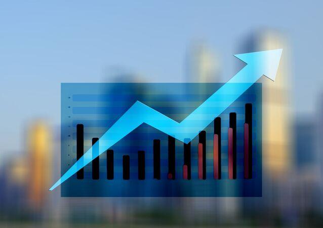 Datos estadísticos de un crecimiento