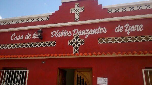 Casa, sede, museo de la cofradía de los Diablos Danzantes de Yare - Sputnik Mundo