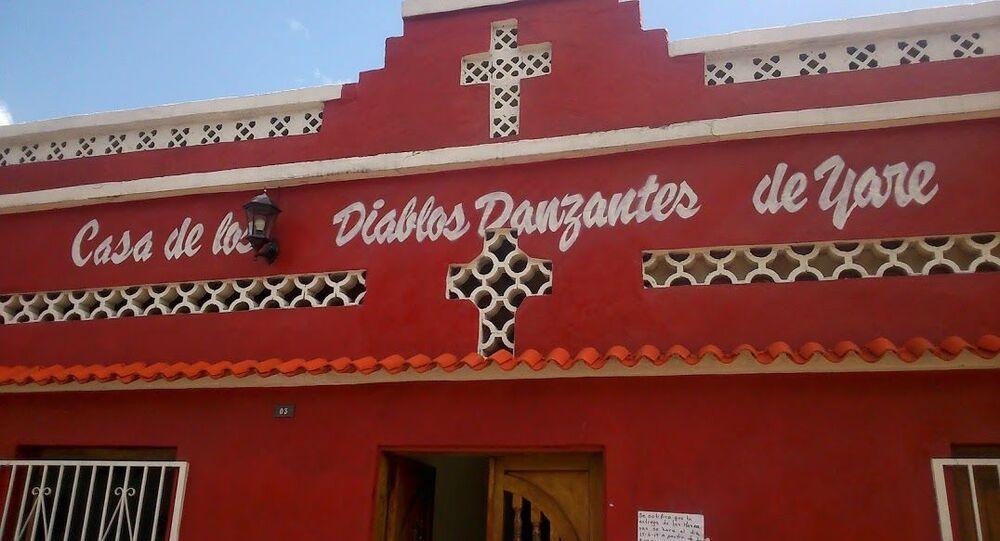 Casa, sede, museo de la cofradía de los Diablos Danzantes de Yare