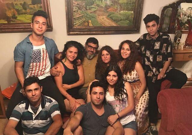 La familia Carvajal Gutiérrez