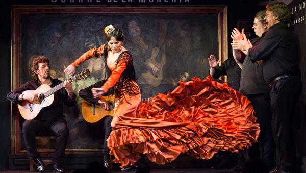Un espectáculo flamenco en el Corral de la Morería - Sputnik Mundo