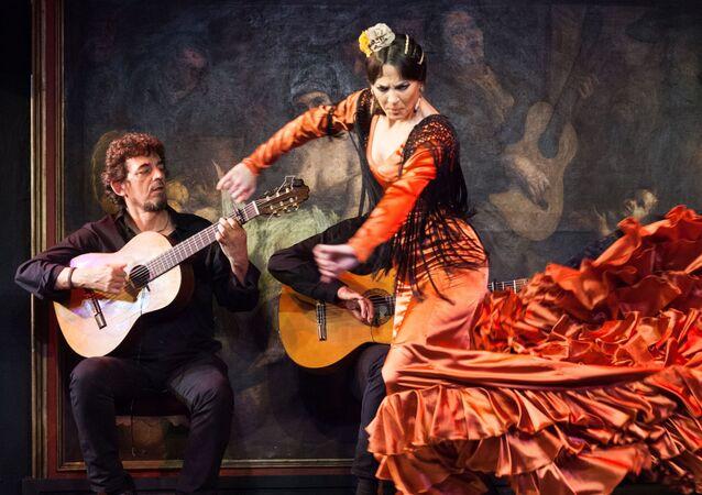 Un espectáculo flamenco en el Corral de la Morería