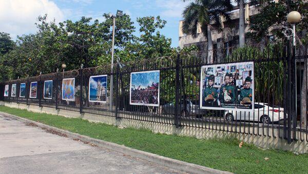 Exposición fotográfica organizada por la Embajada de Rusia en Cuba - Sputnik Mundo