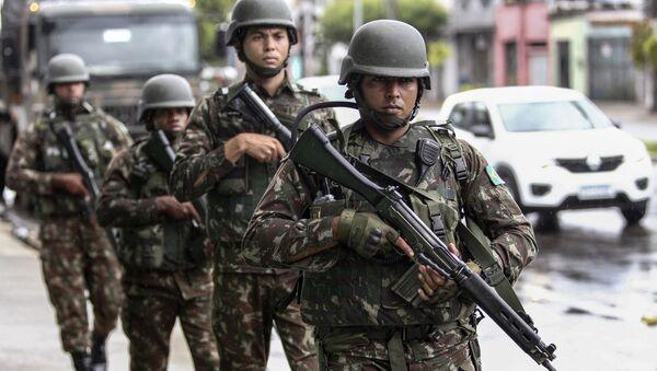Las Fuerzas Armadas de Brasil (imagen referencial) - Sputnik Mundo