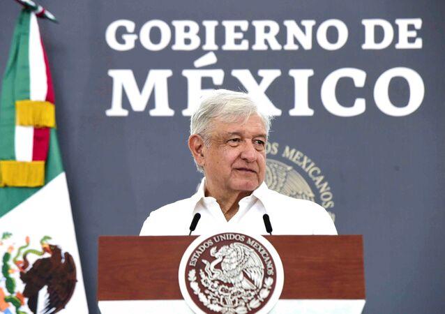 El presidente mexicano, Andrés Manuel Lopez Obrador