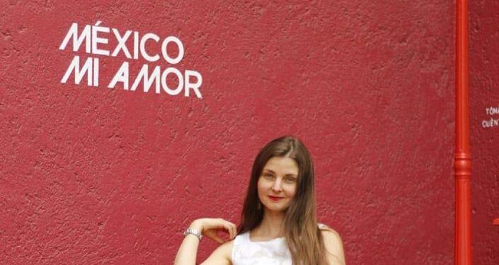 Zhenya Gulyaeva reside en México desde hace cinco años