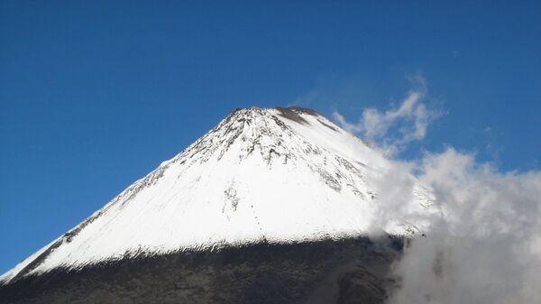 Volcán Sangay en Ecuador - Sputnik Mundo