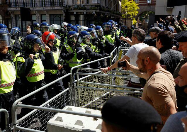 Las protestas antirracistas en Londres