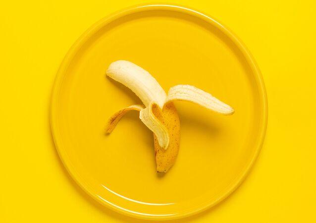 Un plátano, foto referencial