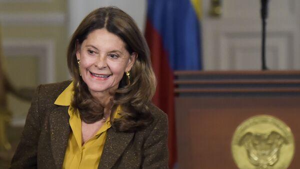 La vicepresidenta colombiana, Marta Lucía Ramírez - Sputnik Mundo