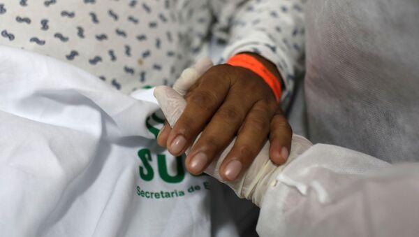 Un hospital en Brasil - Sputnik Mundo