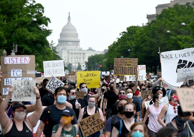 Protestas antirracistas en EEUU (archivo)