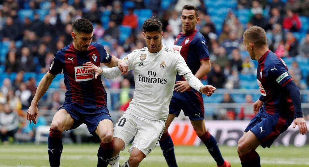 Real madrid juega un partido contra Eibar, archivo