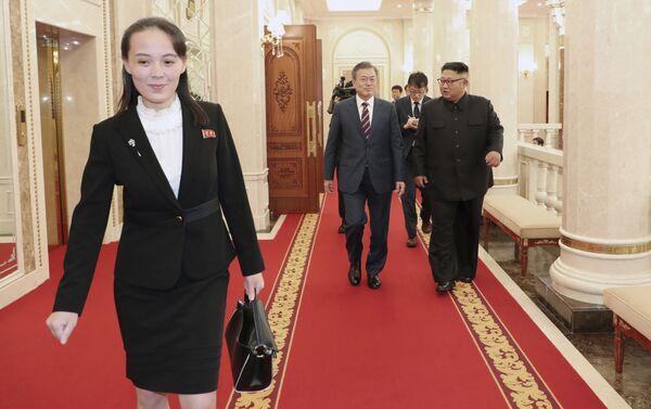 Kim Yo-jong, la mujer más influyente de Corea del Norte   - Sputnik Mundo