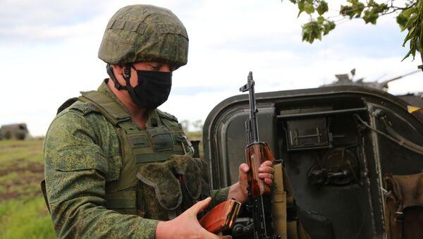 Situación en la zona del conflicto en Donbás - Sputnik Mundo