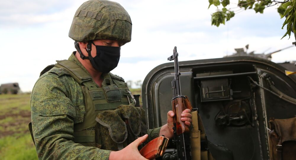 Situación en la zona del conflicto en Donbás