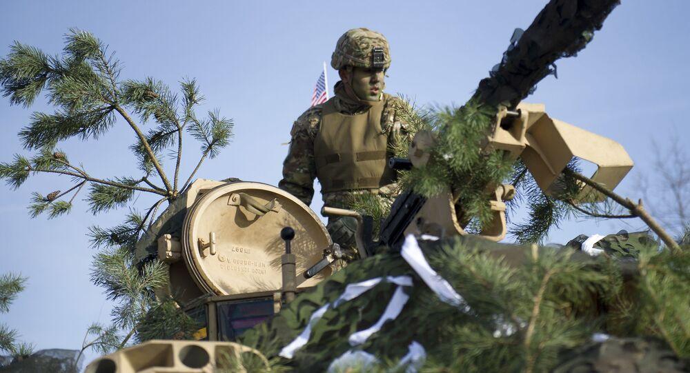 Soldado estadounidense durante unas maniobras de la OTAN en Polonia (archivo)