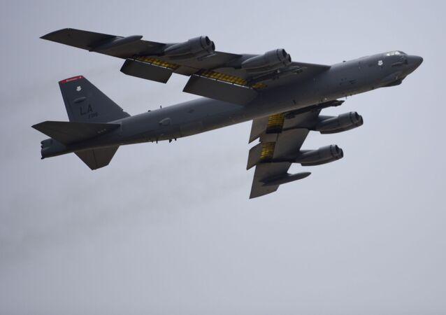 B-52H, un bombardeo estadounidense