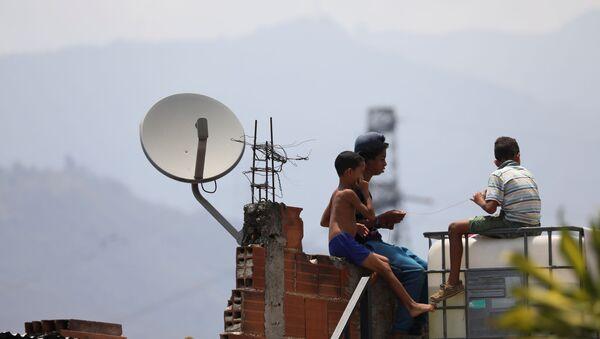 Niños en Caracas, Venezuela - Sputnik Mundo