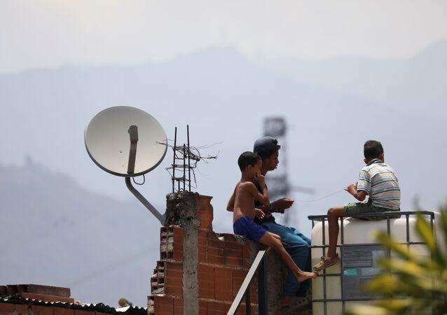 Niños en Caracas, Venezuela