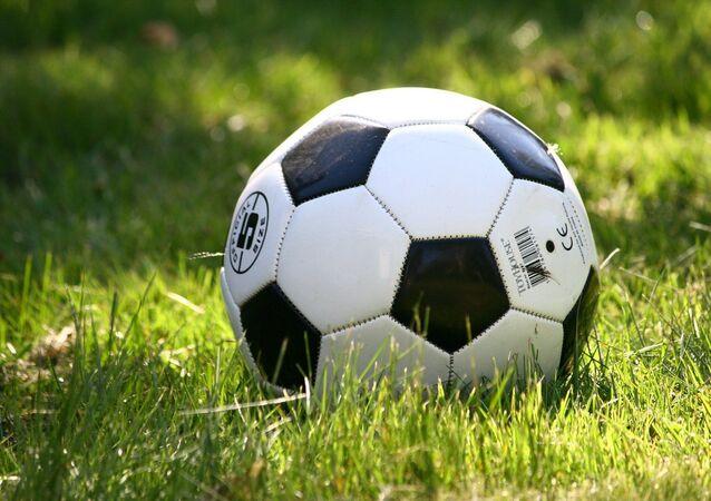 Un balón de fútbol