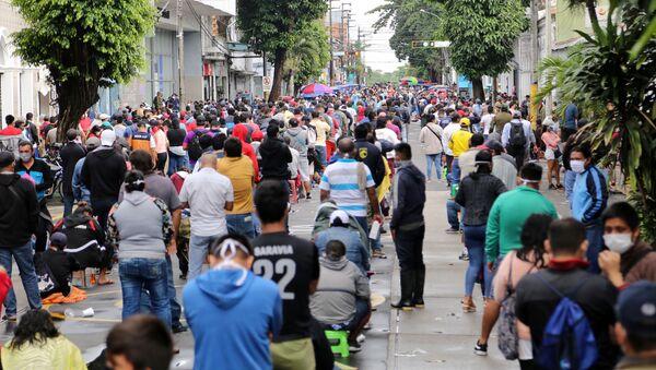 Situación en Iquitos, Perú - Sputnik Mundo