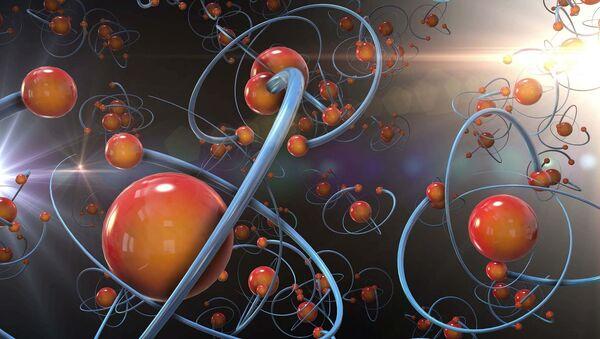 Un átomo (imagen referencial) - Sputnik Mundo