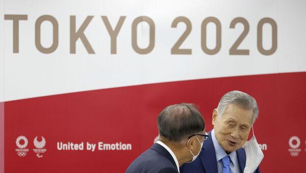Logo de los Juegos Olímpicos de Tokio 2020 - Sputnik Mundo