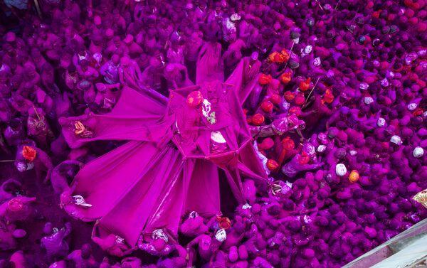 'El festival rosado' por Shubham Kothavale, La India - Sputnik Mundo