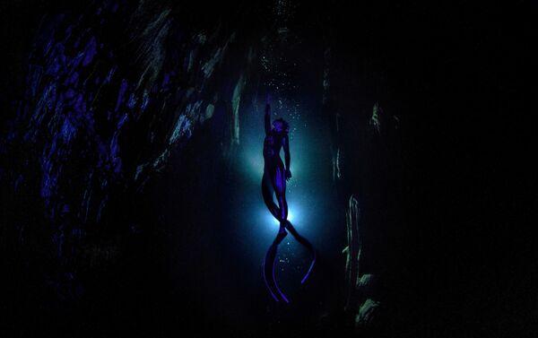'La cueva Gilindire: un único aliento' por Sebnem Coskun, Turquía - Sputnik Mundo