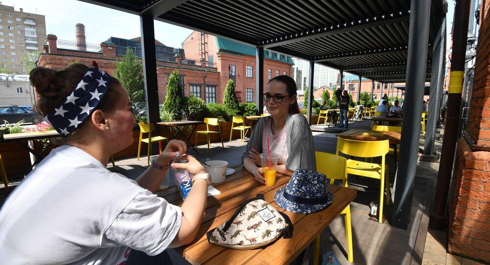 Apertura de terrazas de verano en Moscú