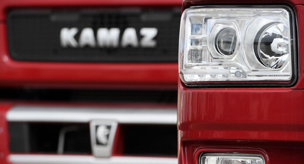 Logo de Kamaz
