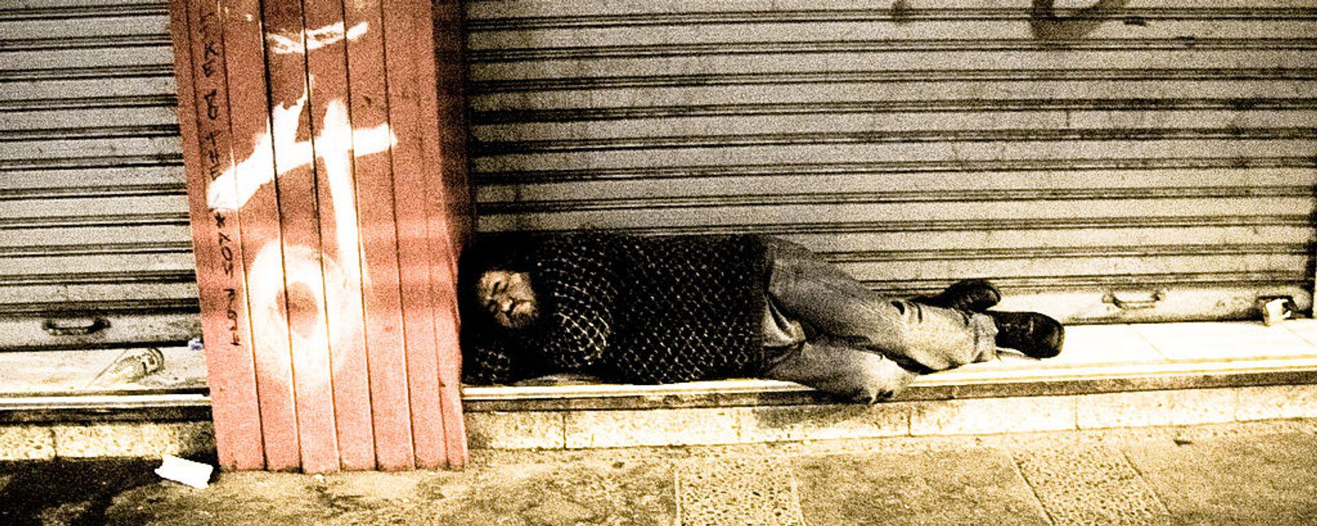 Persona sin hogar - Sputnik Mundo, 1920, 26.04.2021