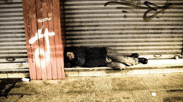 Persona sin hogar - Sputnik Mundo