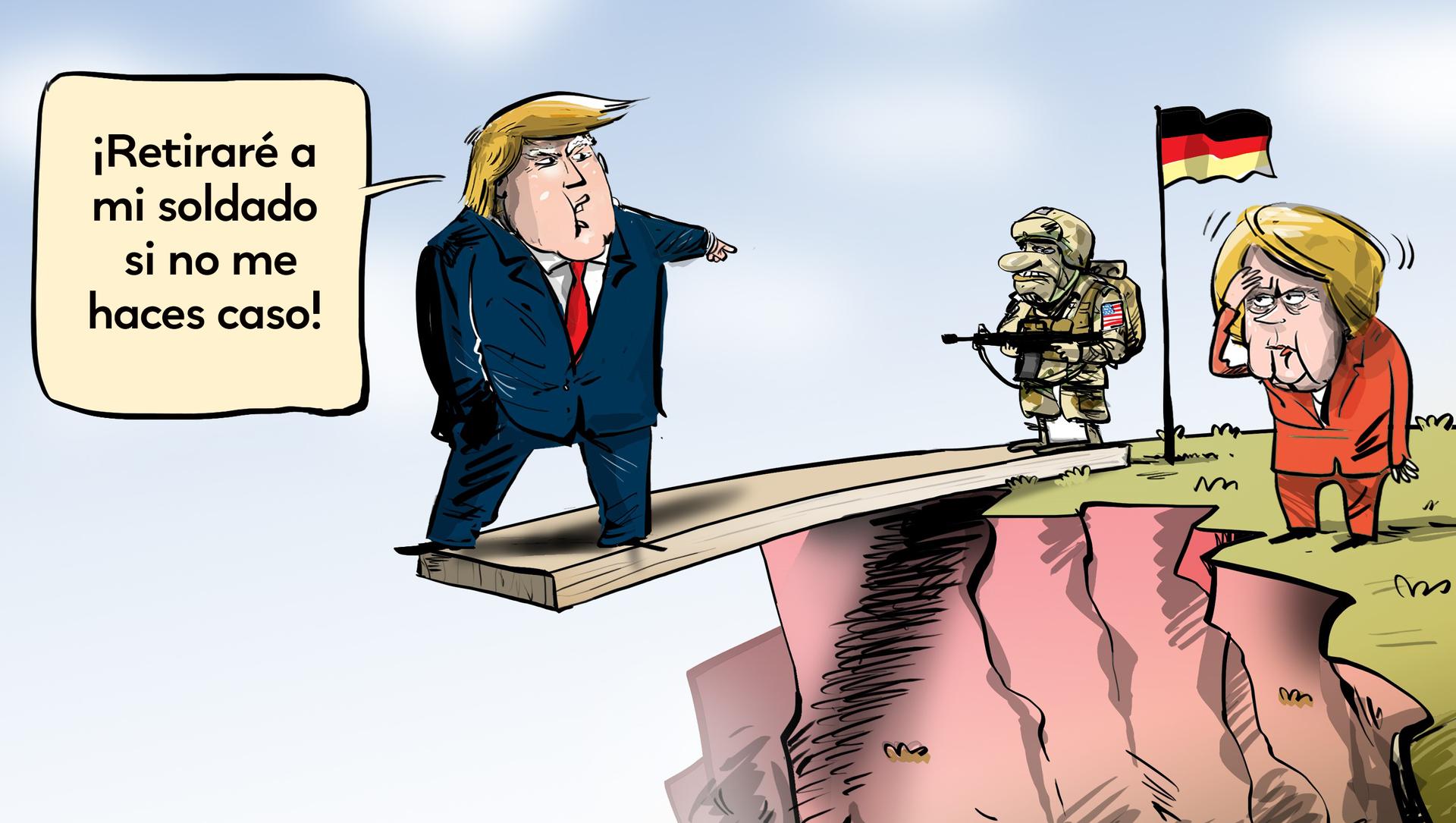 Alemania le responde a Trump sobre la permanencia de las tropas de EEUU - Sputnik Mundo, 1920, 16.06.2020